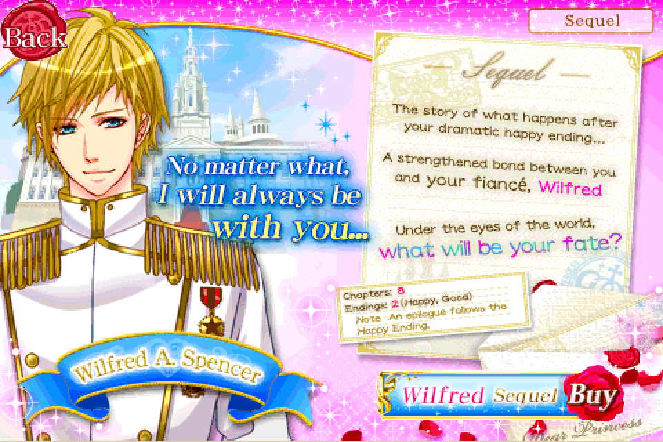 Be My Prince  non-GREE  Sequel of Wilfred  amp  Keith Voltage IncBe My Princess Keith Sequel